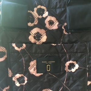 Marc Jacobs Nylon Tote with Floral design